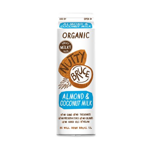 Nutty Bruce Organic Almond Coconut Milk 1L
