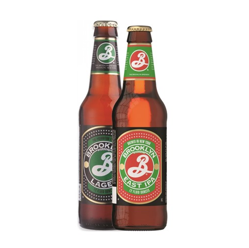 Brooklyn Lager/ East IPA Craft Beer 355ml