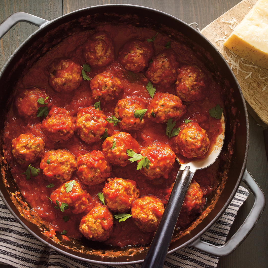 Halloween Monster Meatballs