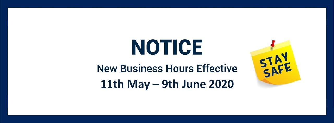 B.I.G. New Business Hours
