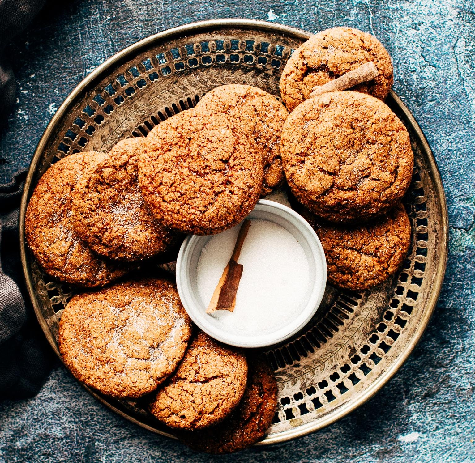 Walnut Coffee Creams Cookies