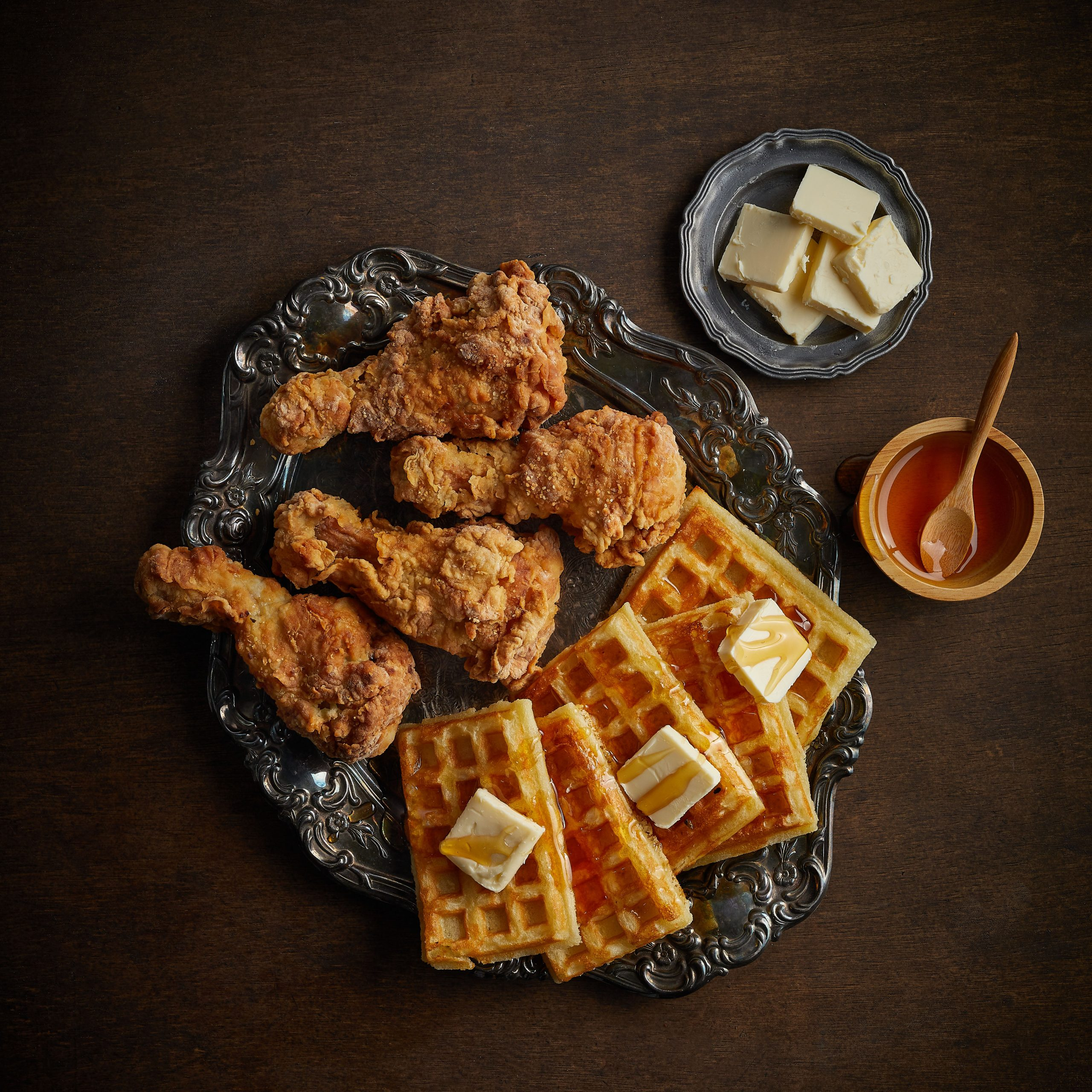 Buttermilk Waffle and Fried Chicken