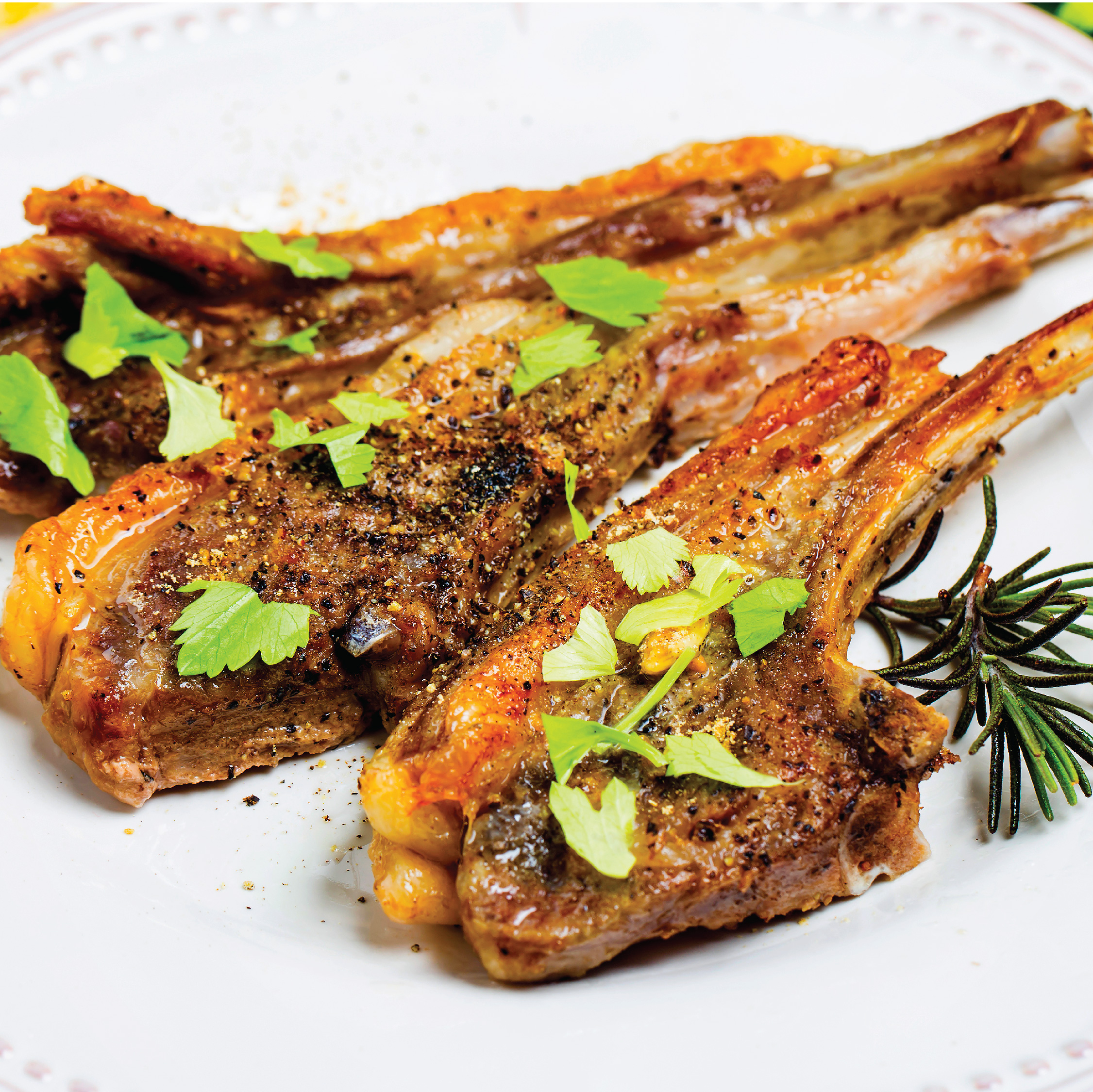 French Lamb Cutlet