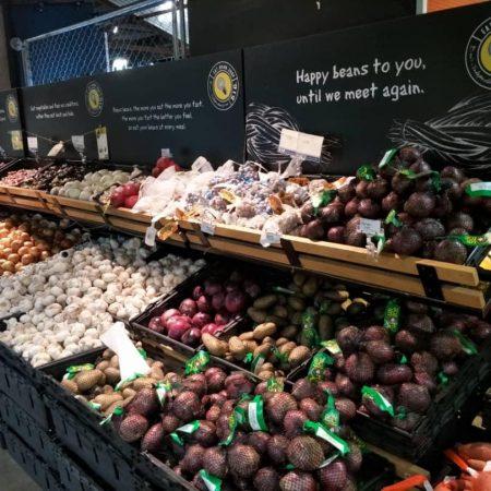 Fresh Vegetables at B.I.G.